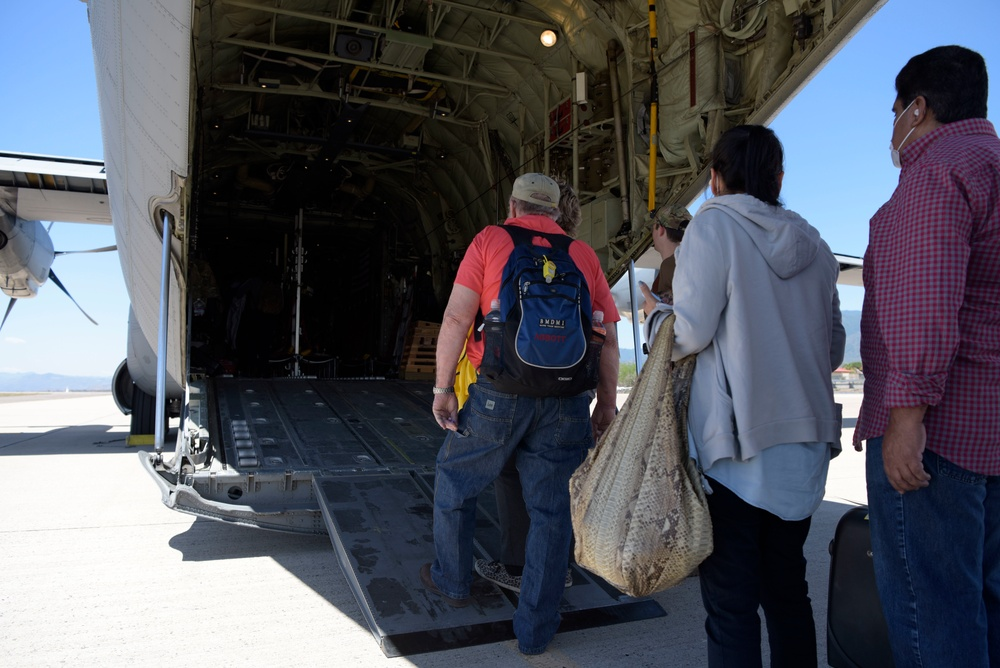 JTF-Bravo facilitates repatriation of US citizens from Honduras