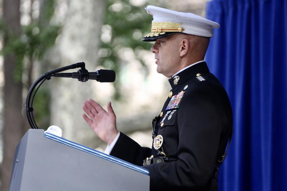 Commandant Attends Veterans Day Parade