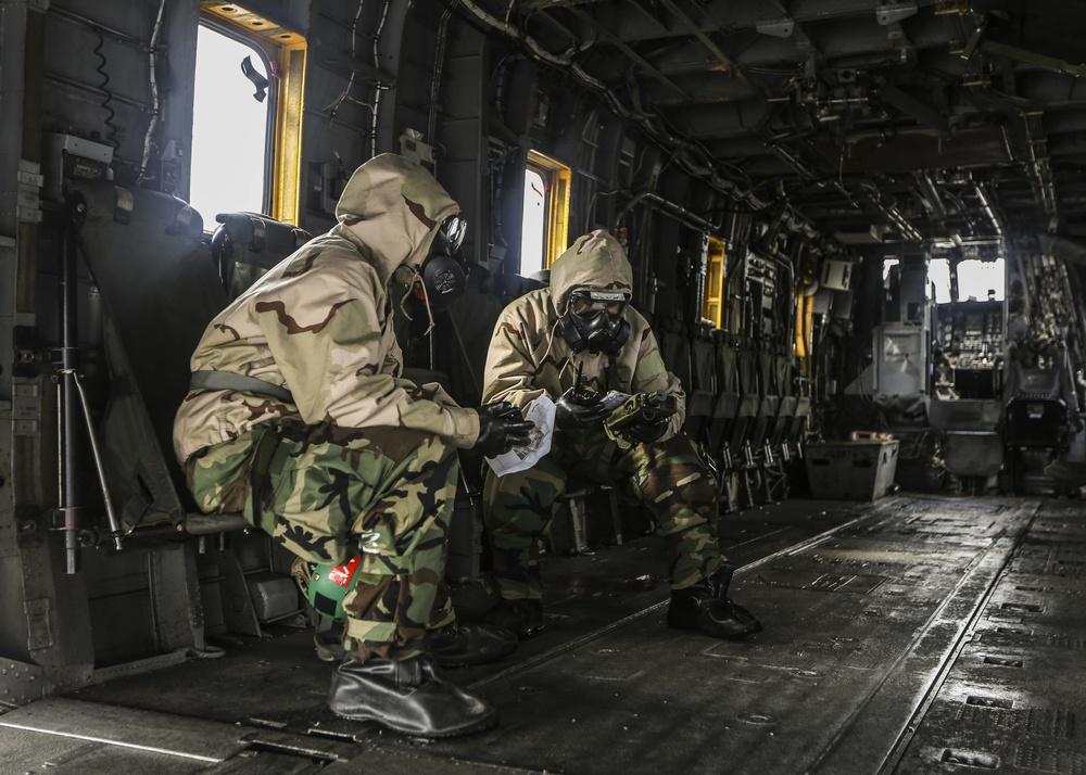 HMH-361 CBRN Training