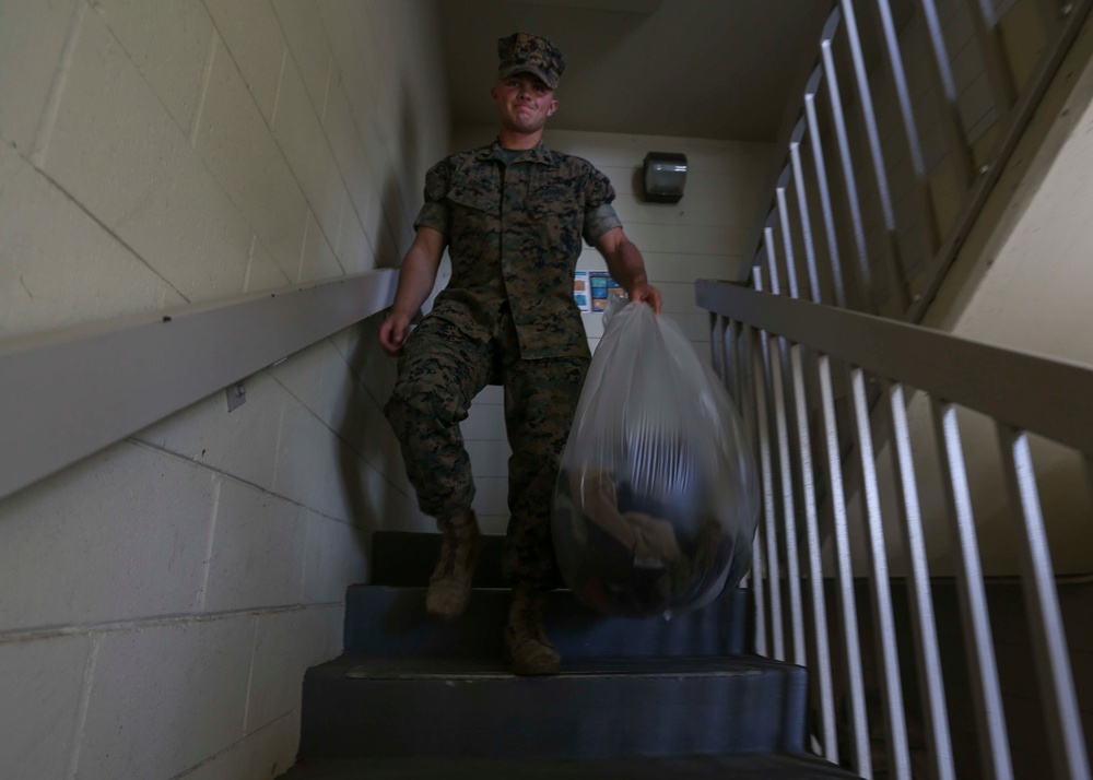 Keeping COVID-19 Contained: Barracks Operations