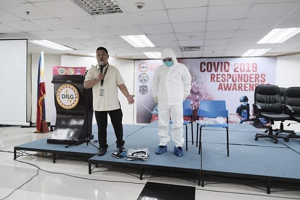 CFE-DM alum coordinates COVID-19 logistics in the Philippines