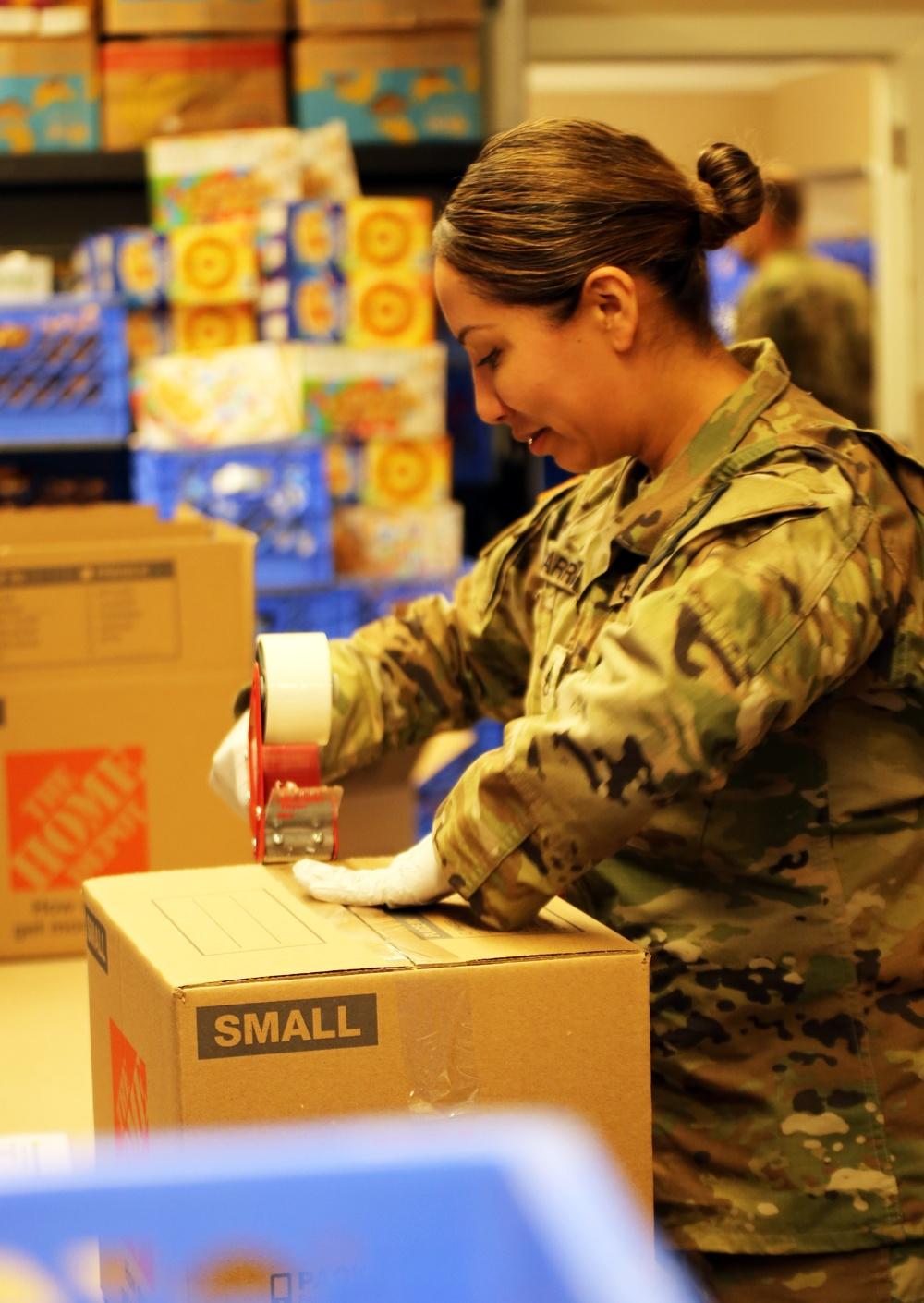 Washington National Guard members respond to the COVID-19 pandemic
