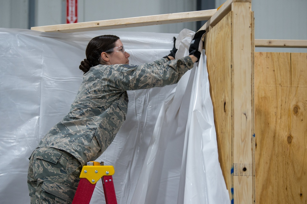 Vermont National Guard Builds Medical Health Facility