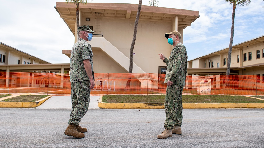 7th Fleet Commander Arrives in Guam during COVID-19 Recovery