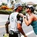 Lt. Duane Zitta takes moment during Kona Ironman