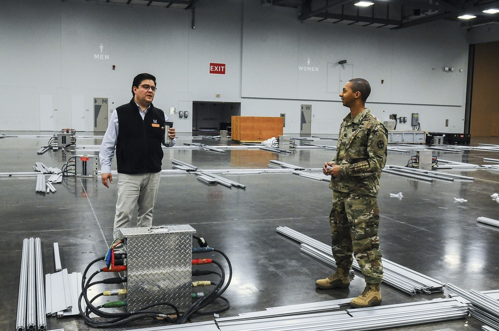 Ohio National Guard evaluates alternate medical care sites