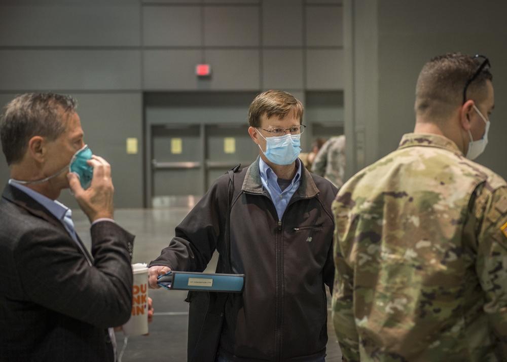 Guard commander leads COVID-19 response in civilian role
