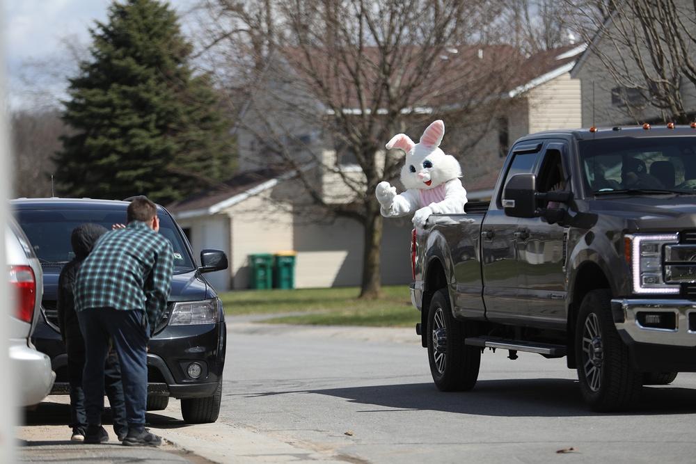 Easter Bunny Neighborhood Hop