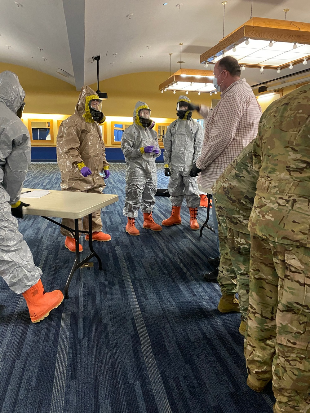W.Va. Guard test WVU faculty and staff for COVID-19