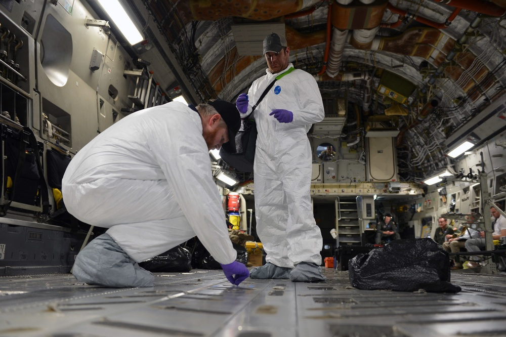 AMC airframes receive airflow testing amongst COVID-19 concerns