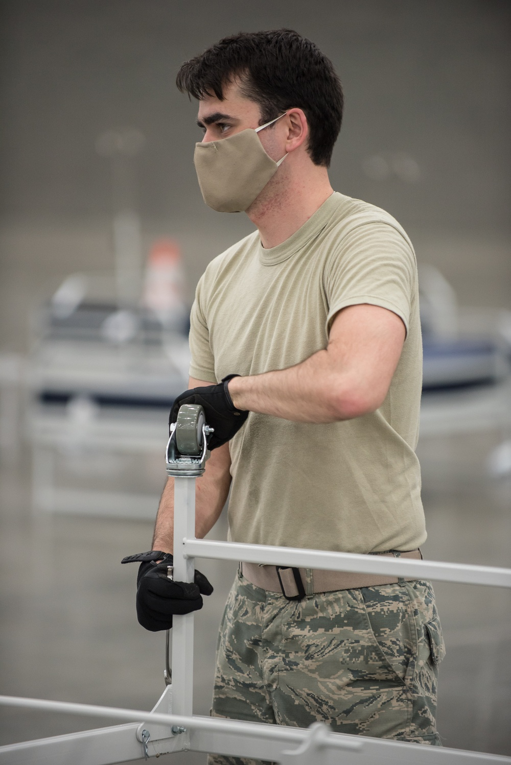Ky. Guard sets up Alternate Care Facility for COVID-19