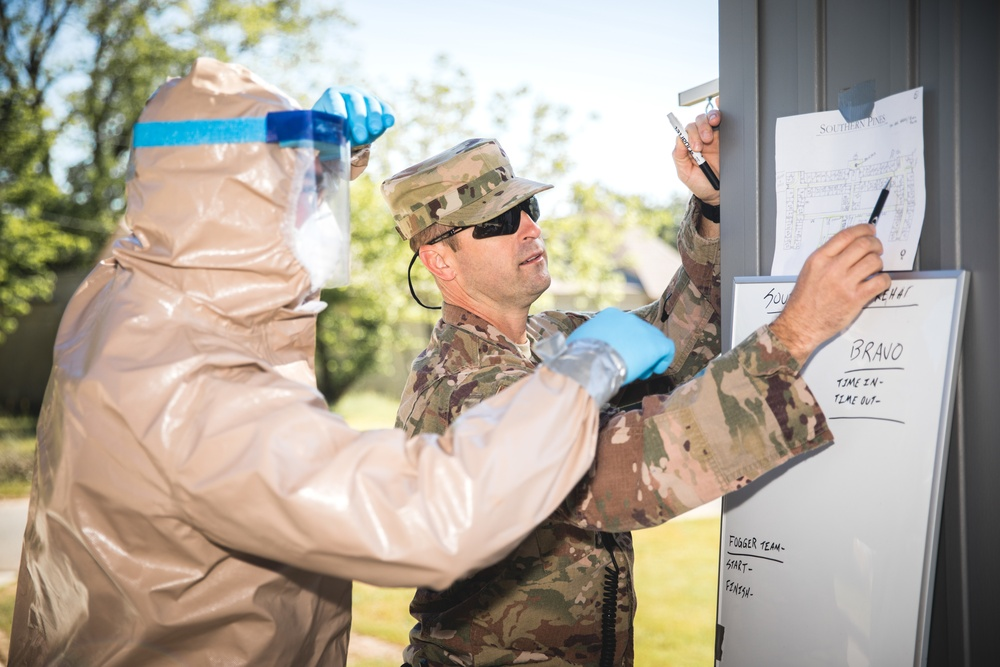 116th Air Control wing assists residents of long-term care facility during COVID-19 pandemic