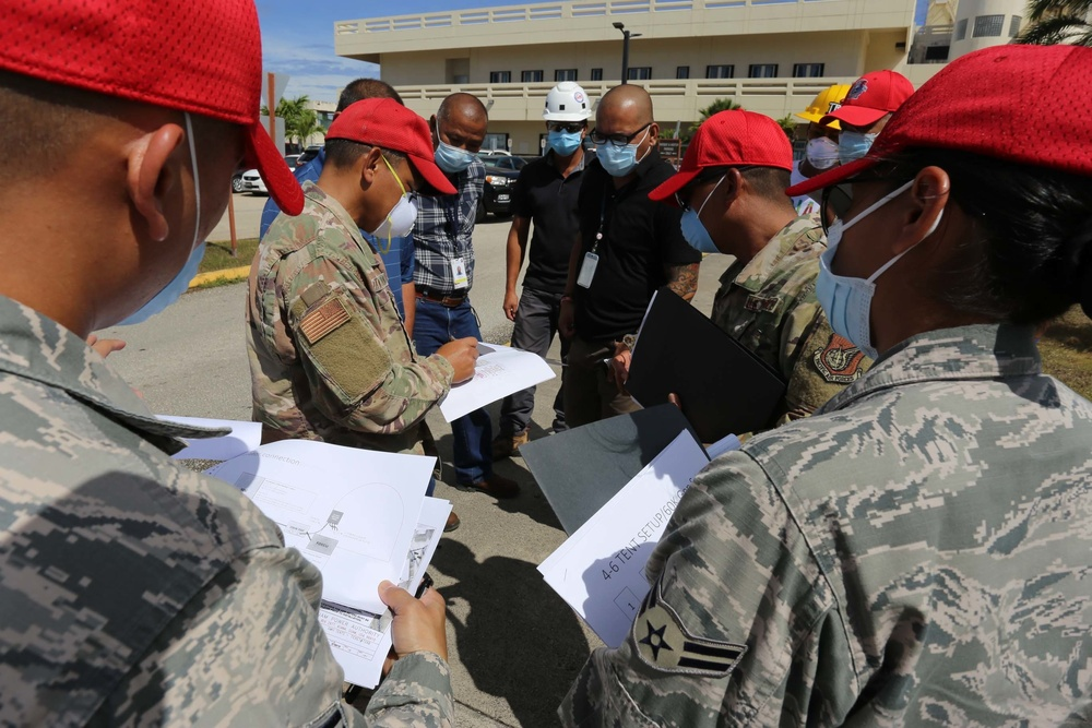Guam National Guard Conducts Logistics Assessment for COVID-19 Support