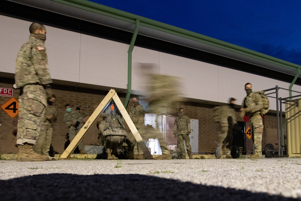 Soldiers train for Ranger School preparation amidst pandemic
