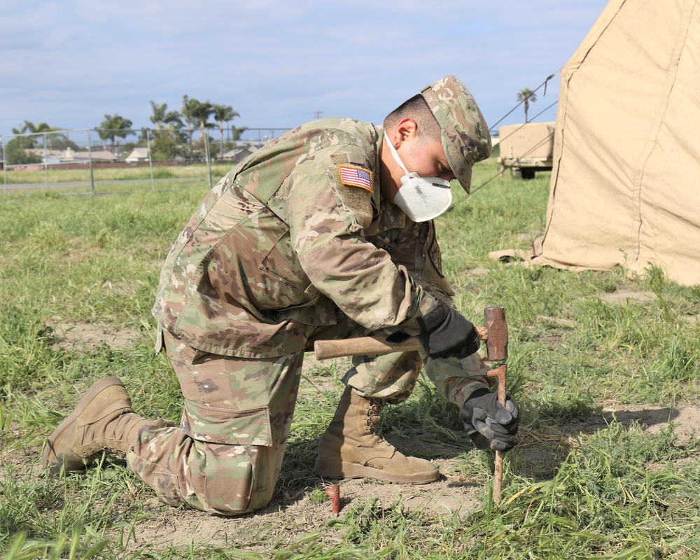 HHC, 224th STB conducts April 2020 IDT