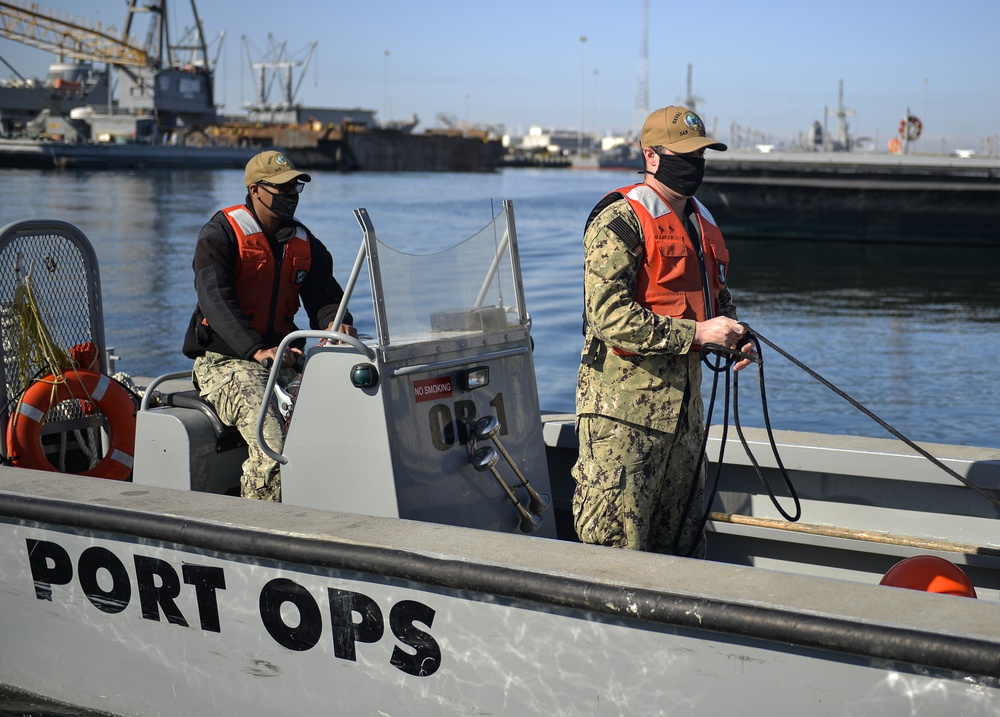 NBSD Port Ops Keeps the Pacific Fleet Moving
