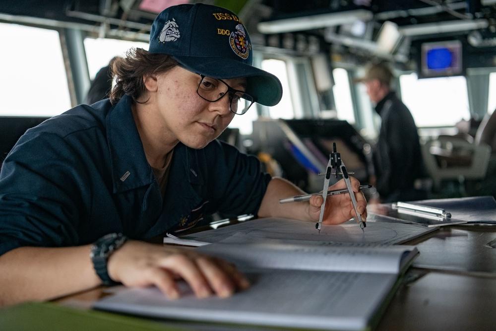 USS BARRY TRANSITS TAIWAN STRAIT