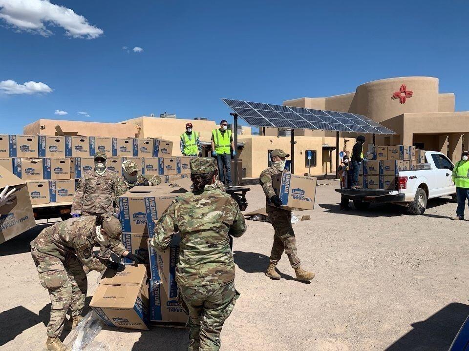 TACOs Deliver Supplies for New Mexico Pueblos