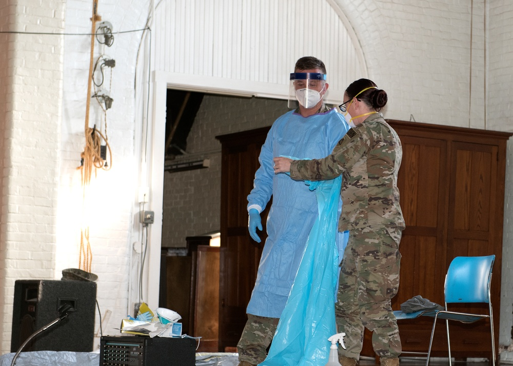Mass. Guard, Army Reserve combine forces in large-scale joint operation