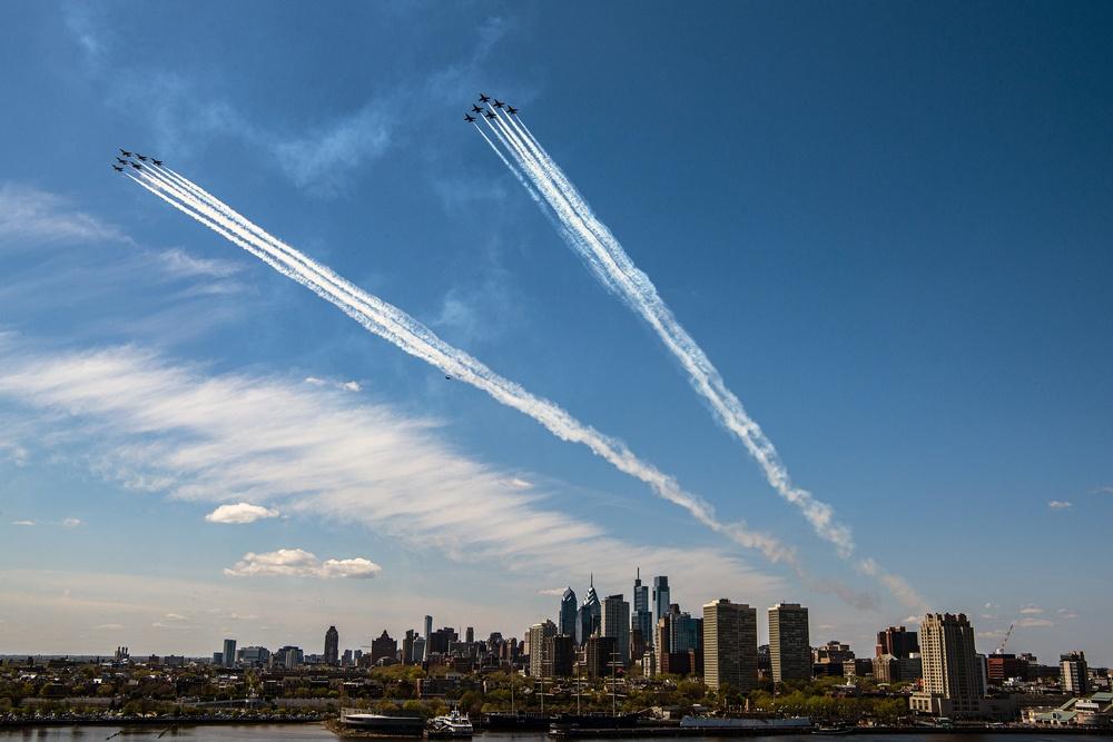 America Strong Flyover Philadelphia