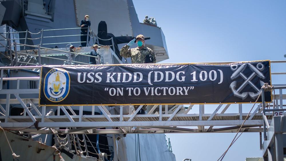 USS Kidd (DDG 100)