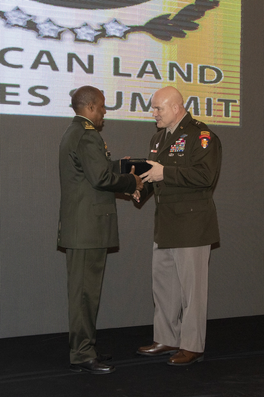 African Land Forces Summit 20 Closing Ceremony