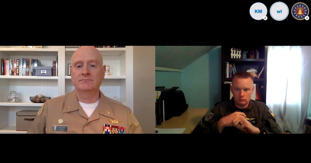 Real Sailors, Real Sea Stories: NTAG Philadelphia, U.S. Naval Sea Cadet Corps share virtual classrooms