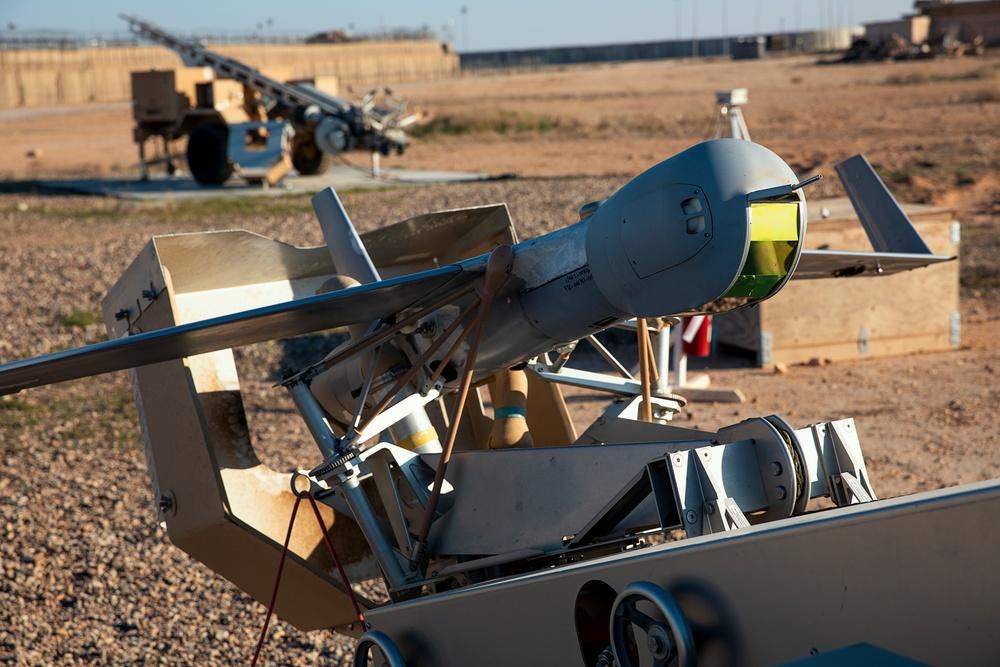 Scan Eagle Exercise at Al Asad Air Base