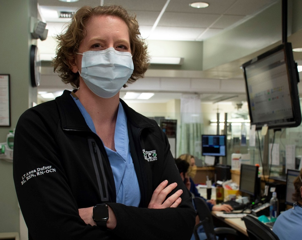 'I Am Navy Medicine, helping stop the spread of COVID-19': Lt. Anna Dufour, Navy Nurse Corps officer