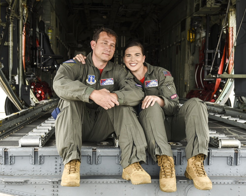 Loadmaster duo keeps the family flying tradition