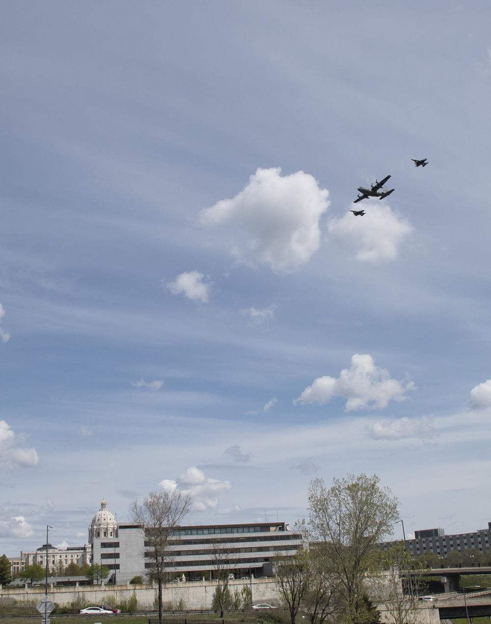 Operation American Resolve Minnesota flyovers
