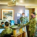 150th Special Operations Wing Vice Commander Visits Guardsmen Helping a Local New Mexico Hospital