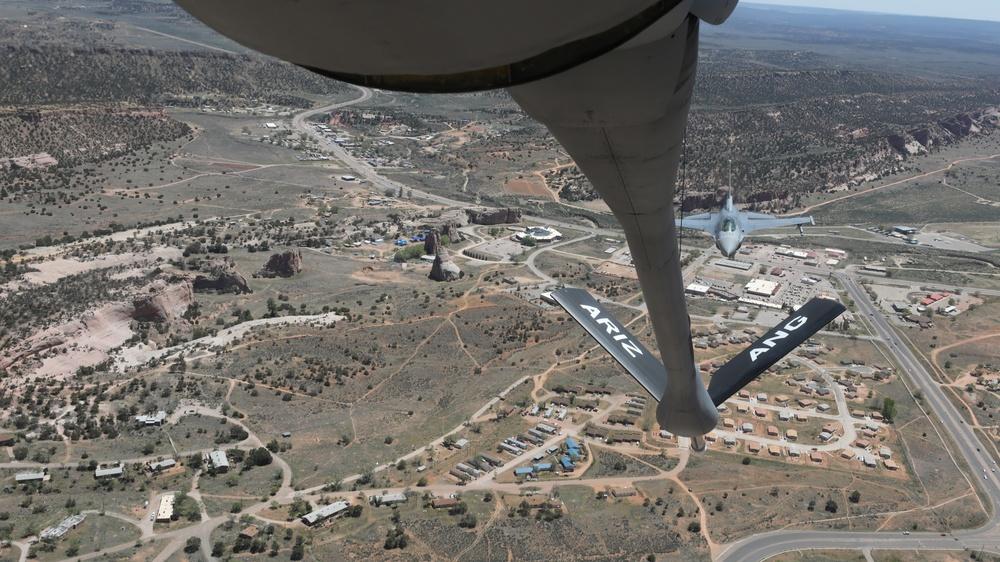 AZ Air Guard Pays Tribute to N. AZ Nurses, Healthcare Workers