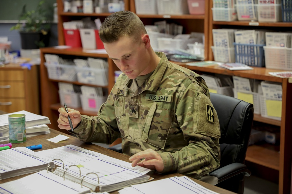 Indiana National Guard medics provide support for Indiana Department of Correction