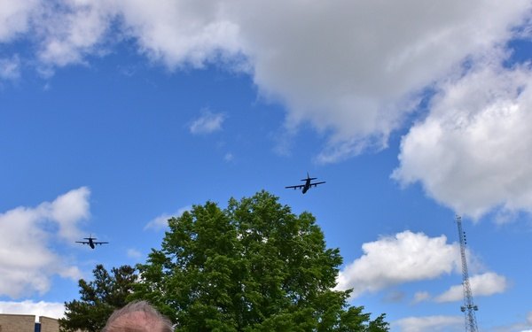 LRAFB America Strong Flyover