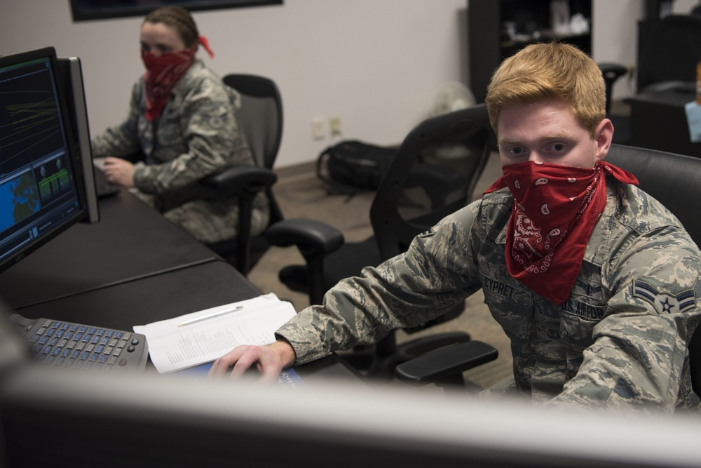 50th OSS conducts space operator training amid COVID-19 pandemic