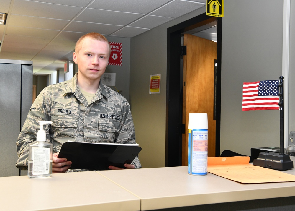 104th Fighter Wing Airmen behind the scenes supporting the mission