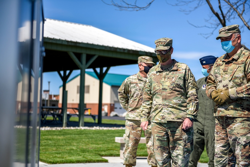 Chief of the National Guard Visits the 180FW