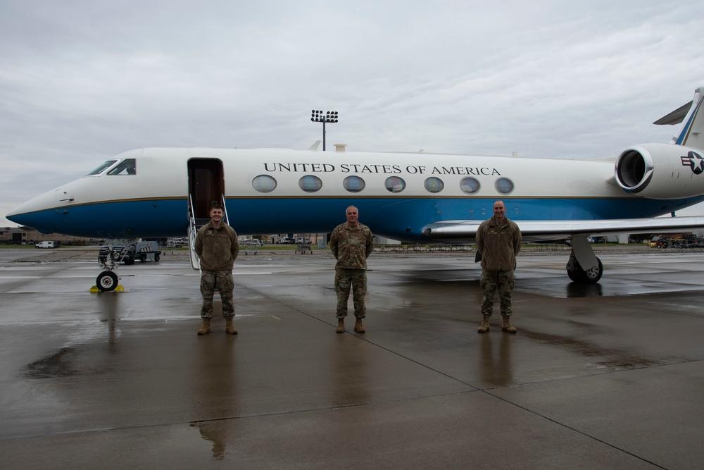 Chief of the National Guard Bureau visits Rickenbacker