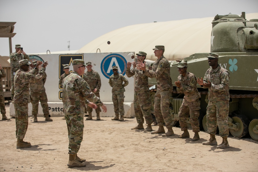Top 30th Armored Brigade Combat Team maintenance Soldiers recognized in time for Ordnance Corps birthday