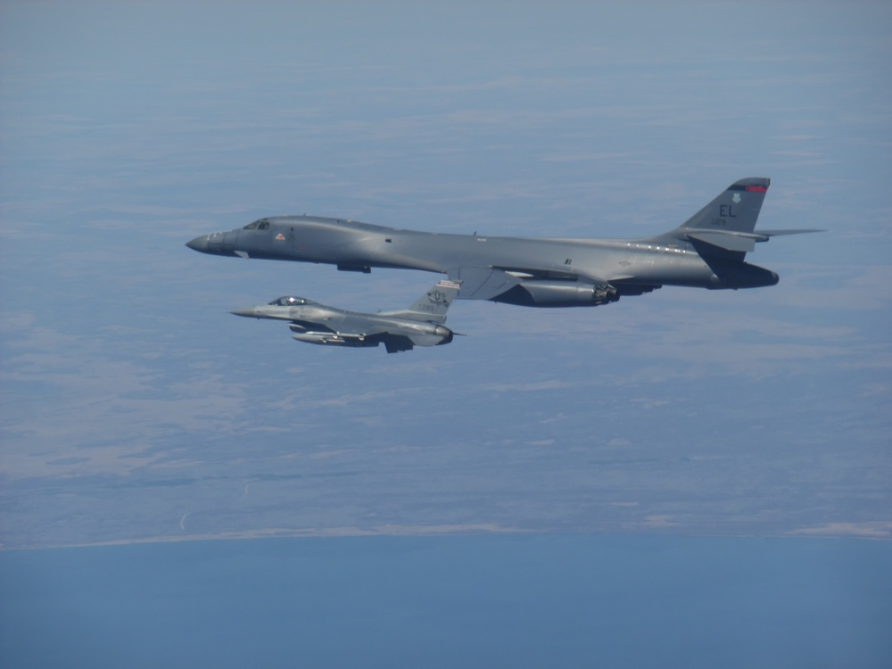 NORAD Conducts Bomber Intercept Exercise with U.S. Strategic Command
