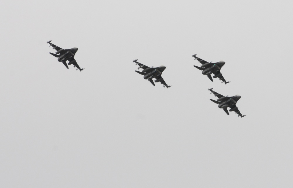148th Fighter Wing conducts flyovers
