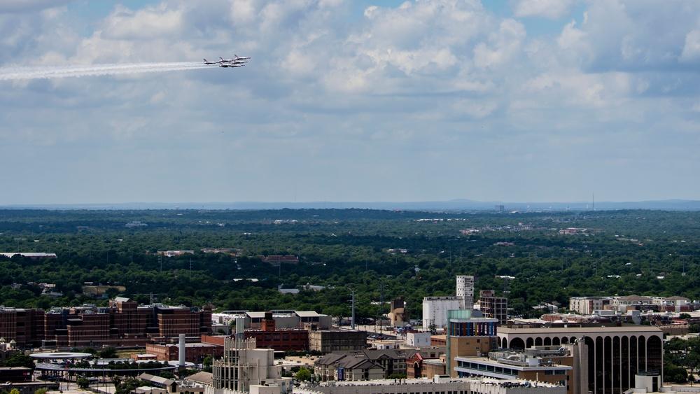 Operation America Strong San Antonio Flyover