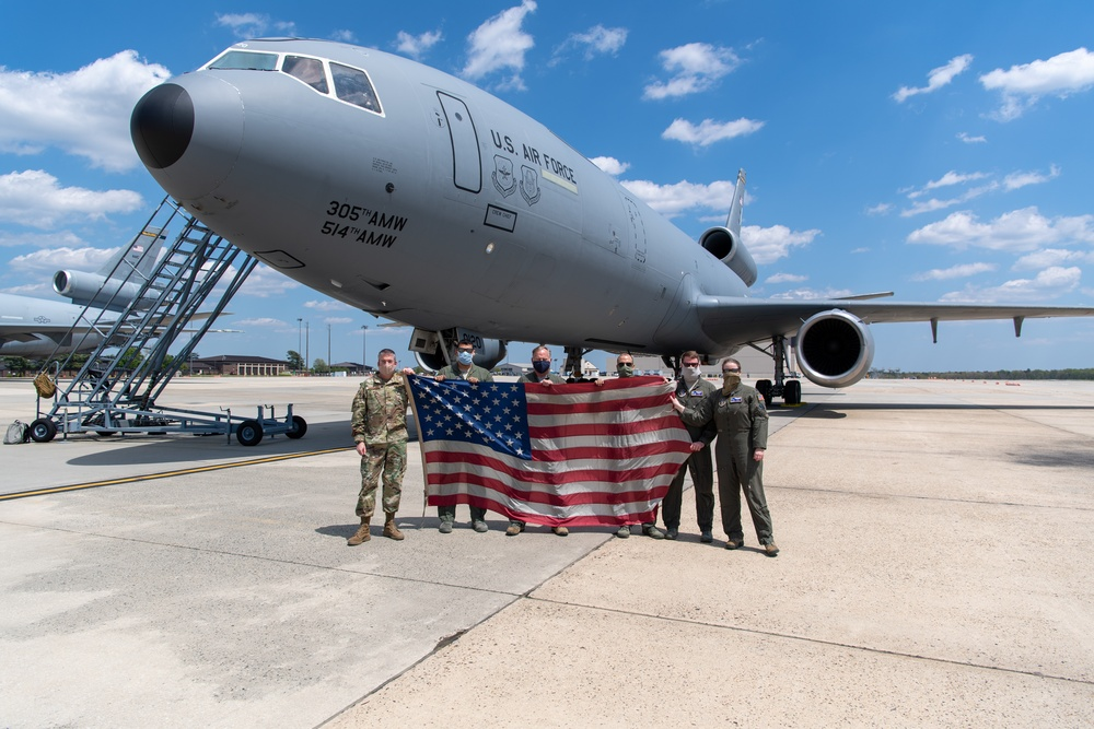 Freedom Wing Aerial Refuel Mission | #AmericaStrong