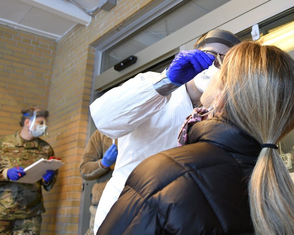 Michigan National Guard assists long term care facilities; dept. of corrections in COVID-19 testing