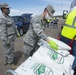 Airmen from the 150th Mission support Group headed to Rock Springs for another food delivery in support of the New Mexico National Guard Joint Task Force COVID-19 response mission.