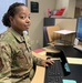 926th Wing Airman taking care of deployers