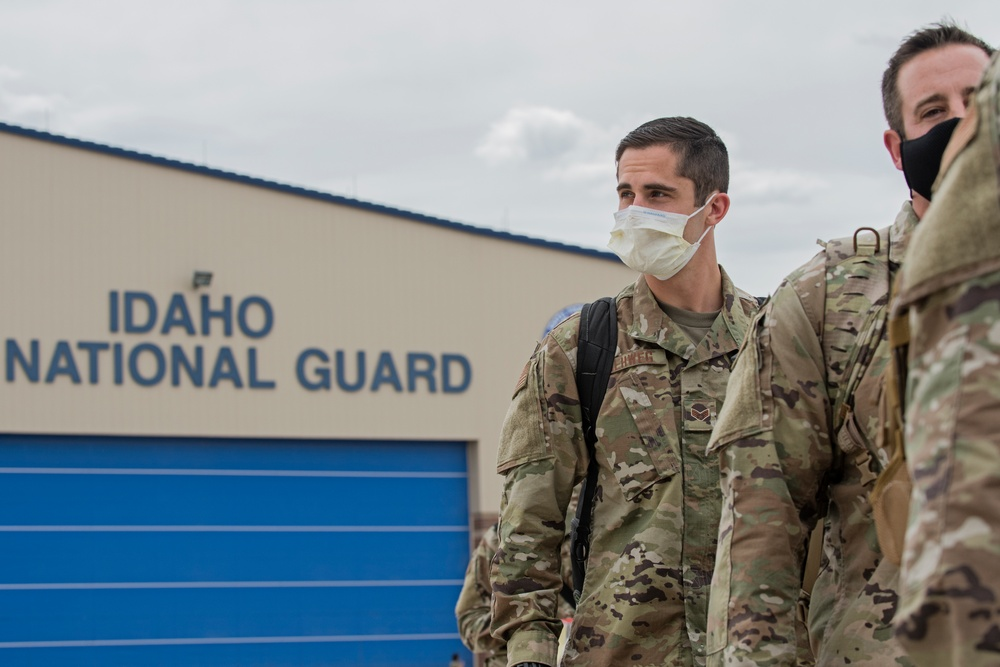 Idaho Air National Guard's 124th Fighter Wing deploys to Southwest Asia
