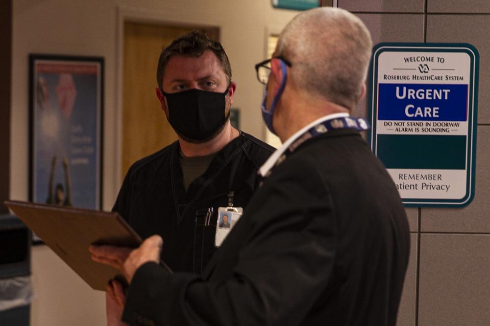 Roseburg VA Nurse Manager Recognized for COVID-19 Response Support