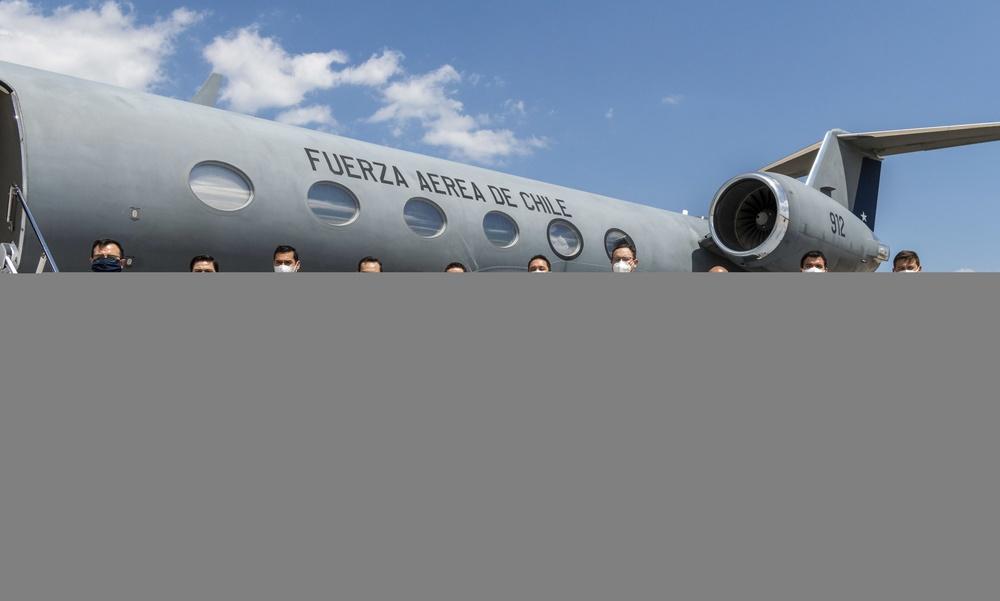 U.S. Air Force, Chilean Air Force continue the mission despite COVID-19